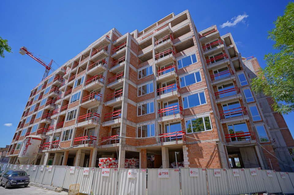 Напредък на строителството на Cherkovna Residence 1 - Stonehard