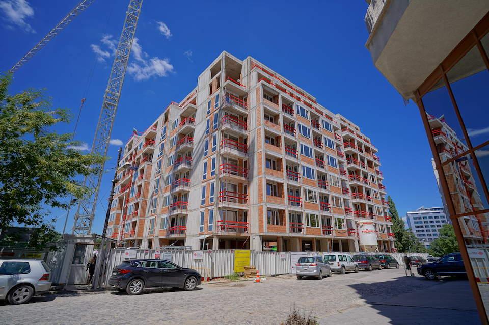 Напредък на строителството на Cherkovna Residence 2 - Stonehard