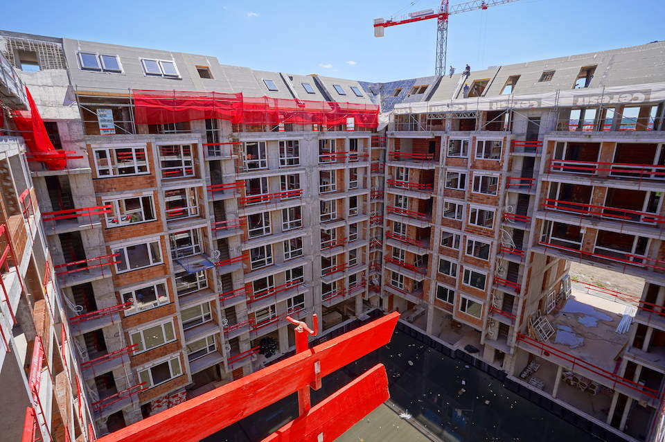 Напредък на строителството на Cherkovna Residence 5 - Stonehard