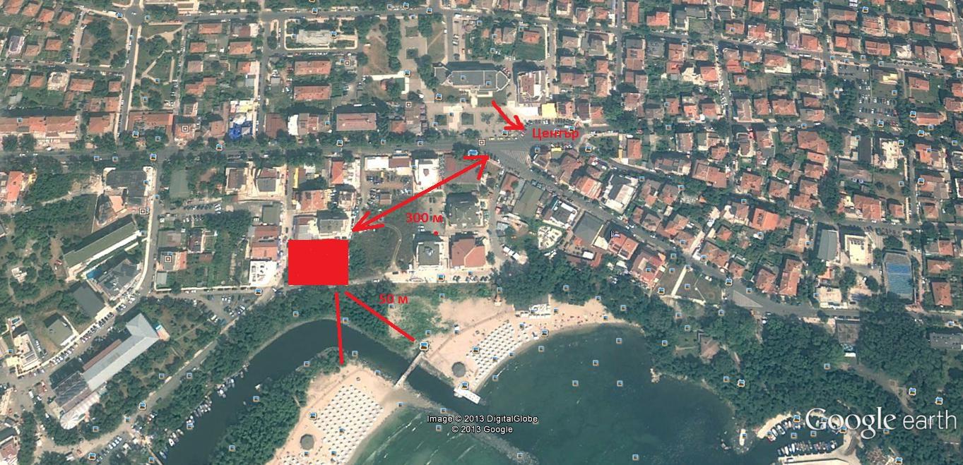 Генерален план: Изискан комплекс от апартаменти до Южния плаж