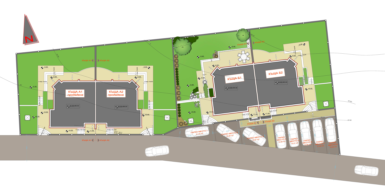 Генерален план: Къща за продажба до Варненското езеро