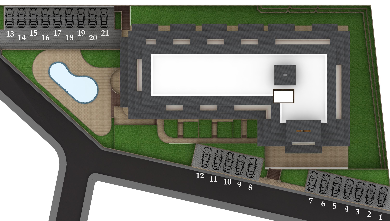 Генерален план: Нова жилищна сграда с апартаменти