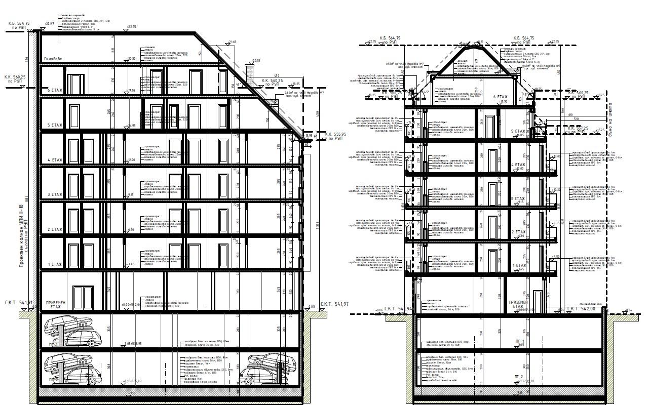 Генерален план: Хубава нова сграда с апартаменти в широкия център на София