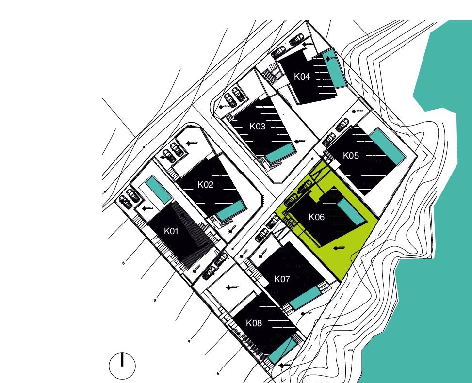 Генерален план: Луксозна вила на брега в спокойна местност до Лозенец