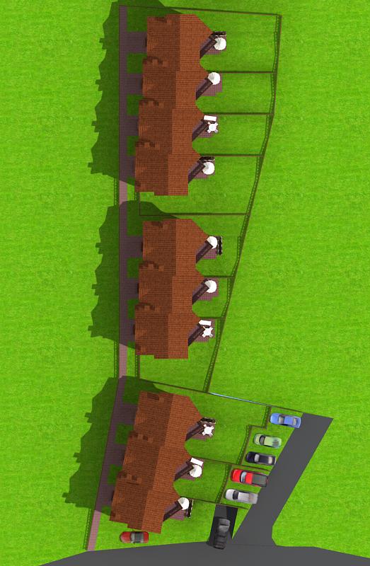 Генерален план: Комплекс от нови къщи до Витоша в кв. Княжево